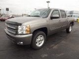 2013 Graystone Metallic Chevrolet Silverado 1500 LT Crew Cab 4x4 #73347932