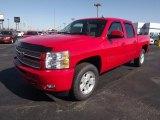 2013 Victory Red Chevrolet Silverado 1500 LTZ Crew Cab 4x4 #73347931