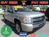 2008 Silver Birch Metallic Chevrolet Silverado 1500 LT Extended Cab #73348030