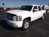 2013 Summit White Chevrolet Silverado 1500 LTZ Crew Cab 4x4 #73347928