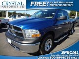 2011 Deep Water Blue Pearl Dodge Ram 1500 ST Quad Cab #73348023