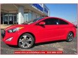 2013 Volcanic Red Hyundai Elantra Coupe SE #73347913