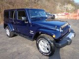 2013 Jeep Wrangler Unlimited True Blue Pearl