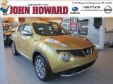 2013 Atomic Gold Nissan Juke SV AWD #73408585