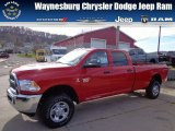 2012 Flame Red Dodge Ram 3500 HD ST Crew Cab 4x4 #73408465