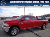 2012 Flame Red Dodge Ram 3500 HD ST Crew Cab 4x4 #73408464