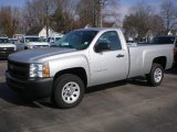 2012 Silver Ice Metallic Chevrolet Silverado 1500 Work Truck Regular Cab #73408685