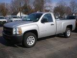 2012 Silver Ice Metallic Chevrolet Silverado 1500 Work Truck Regular Cab #73408685