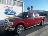 2013 Ruby Red Metallic Ford F150 XLT SuperCrew #73408429