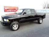 2001 Black Dodge Ram 1500 Sport Club Cab 4x4 #73408682