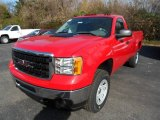 2013 Fire Red GMC Sierra 3500HD Regular Cab 4x4 #73408577
