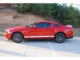2011 Race Red Ford Mustang Shelby GT500 SVT Performance Package Coupe #73408671