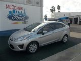 2013 Ingot Silver Ford Fiesta S Sedan #73408423