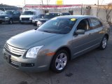 2009 Moss Green Metallic Ford Fusion SE #73408506