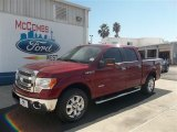 2013 Ruby Red Metallic Ford F150 XLT SuperCrew #73408417