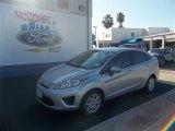2013 Ingot Silver Ford Fiesta S Sedan #73408415