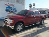 2013 Ruby Red Metallic Ford F150 XLT SuperCrew #73408404