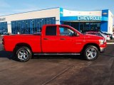 Flame Red Dodge Ram 1500 in 2008