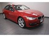 2012 Melbourne Red Metallic BMW 3 Series 335i Sedan #73440844