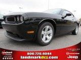 2013 Pitch Black Dodge Challenger SXT #73440562