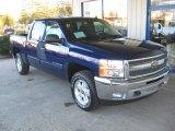2013 Blue Topaz Metallic Chevrolet Silverado 1500 LT Crew Cab 4x4 #73441028