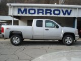 2013 Silver Ice Metallic Chevrolet Silverado 1500 LT Extended Cab 4x4 #73440522
