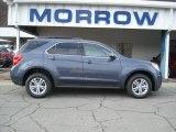2013 Atlantis Blue Metallic Chevrolet Equinox LT AWD #73440520
