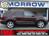 2011 Bordeaux Reserve Red Metallic Ford Explorer Limited 4WD #73440515