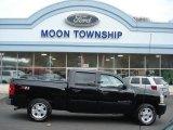 2009 Black Chevrolet Silverado 1500 LT Z71 Crew Cab 4x4 #73440631