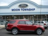 2013 Ruby Red Metallic Ford Explorer Limited 4WD #73440627