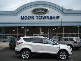 2013 White Platinum Metallic Tri-Coat Ford Escape Titanium 2.0L EcoBoost 4WD #73440625