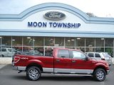 2013 Ruby Red Metallic Ford F150 XLT SuperCrew 4x4 #73440622