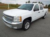 2013 Summit White Chevrolet Silverado 1500 LT Crew Cab #73440896