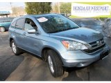 2010 Glacier Blue Metallic Honda CR-V EX-L AWD #73440494