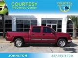 2006 Sport Red Metallic Chevrolet Silverado 1500 Z71 Crew Cab 4x4 #73440487