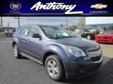 2013 Atlantis Blue Metallic Chevrolet Equinox LS AWD #73440960
