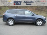 2013 Atlantis Blue Metallic Chevrolet Traverse LS #73440588