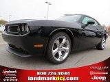 2013 Pitch Black Dodge Challenger R/T #73440565
