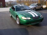 2000 Electric Green Metallic Ford Mustang V6 Coupe #73485215