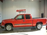 2007 Victory Red Chevrolet Silverado 1500 Classic LT Extended Cab #73485211