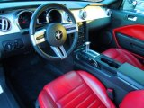 2006 Ford Mustang V6 Premium Coupe Red/Dark Charcoal Interior