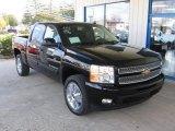 2013 Black Chevrolet Silverado 1500 LTZ Crew Cab 4x4 #73485199