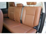 2013 Toyota Tundra Platinum CrewMax 4x4 Red Rock Interior
