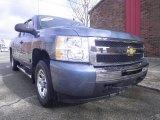 2010 Blue Granite Metallic Chevrolet Silverado 1500 LT Extended Cab #73485197