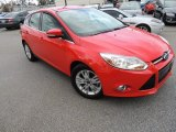 2012 Race Red Ford Focus SEL 5-Door #73484873