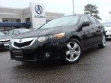 2009 Crystal Black Pearl Acura TSX Sedan #73484526