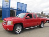 2013 Victory Red Chevrolet Silverado 1500 LT Extended Cab 4x4 #73484658