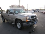 2003 Light Pewter Metallic Chevrolet Silverado 1500 Z71 Extended Cab 4x4 #73484982