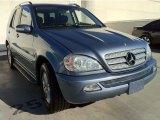 2005 Platinum Blue Metallic Mercedes-Benz ML 350 4Matic #73484520