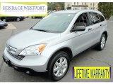 2009 Alabaster Silver Metallic Honda CR-V EX 4WD #73484652